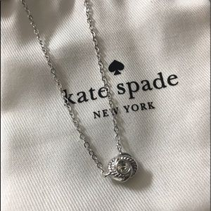 100% Authentic Kate Spade ♠️ Silver Necklace